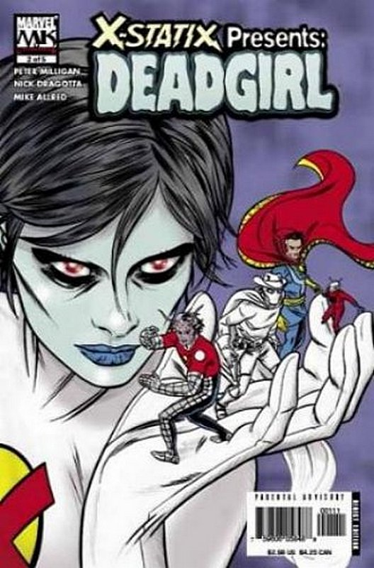Cover of X-Statix presents: Dead Girl (2006 Ltd) #2. One of 250,000 Vintage American Comics on sale from Krypton!