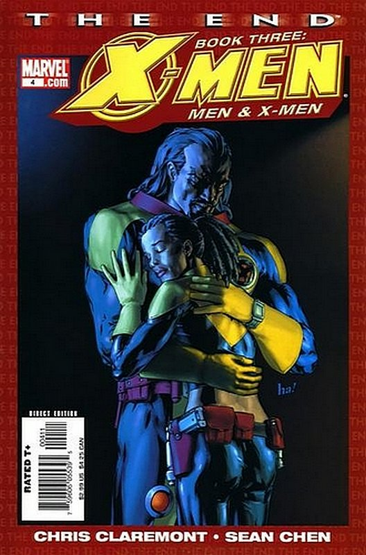 Cover of X-Men The End Book Three: Men & X-Men #4. One of 250,000 Vintage American Comics on sale from Krypton!