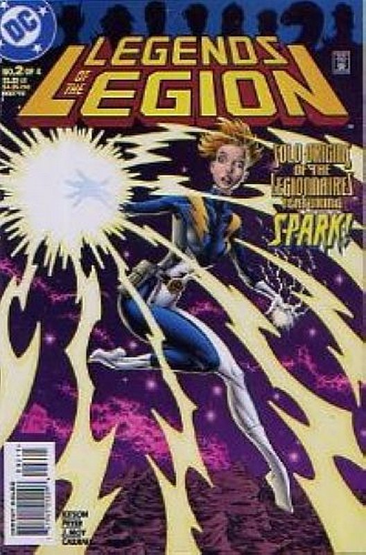 Cover of Legends of the Legion (1998 Ltd) #2. One of 250,000 Vintage American Comics on sale from Krypton!