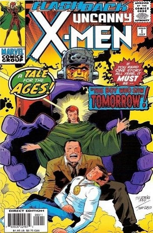Cover of Uncanny X-Men (Vol 1) #-1. One of 250,000 Vintage American Comics on sale from Krypton!