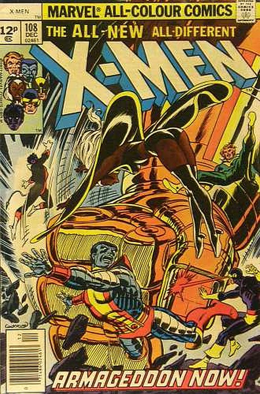 Cover of Uncanny X-Men (Vol 1) #108. One of 250,000 Vintage American Comics on sale from Krypton!