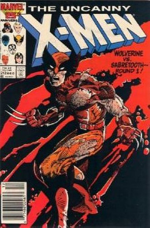 Cover of Uncanny X-Men (Vol 1) #212. One of 250,000 Vintage American Comics on sale from Krypton!