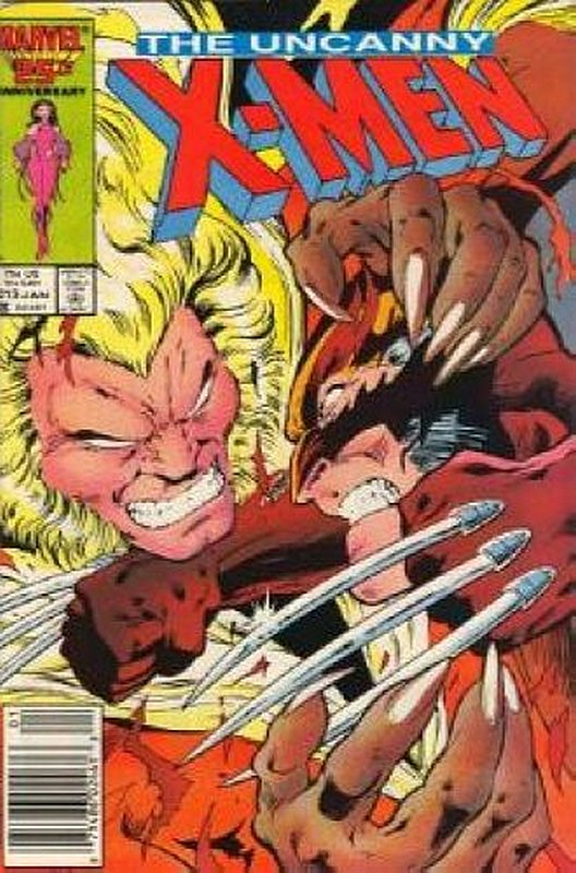 Cover of Uncanny X-Men (Vol 1) #213. One of 250,000 Vintage American Comics on sale from Krypton!
