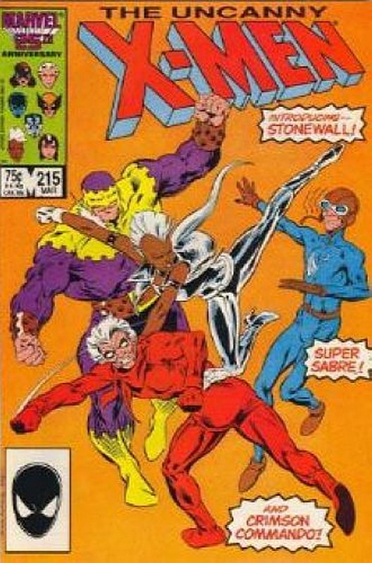 Cover of Uncanny X-Men (Vol 1) #215. One of 250,000 Vintage American Comics on sale from Krypton!