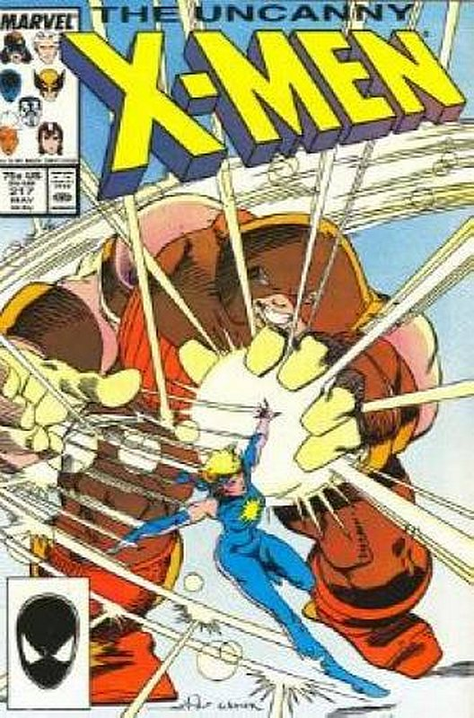 Cover of Uncanny X-Men (Vol 1) #217. One of 250,000 Vintage American Comics on sale from Krypton!