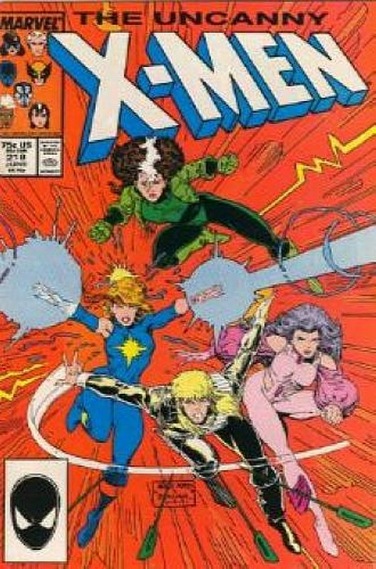 Cover of Uncanny X-Men (Vol 1) #218. One of 250,000 Vintage American Comics on sale from Krypton!