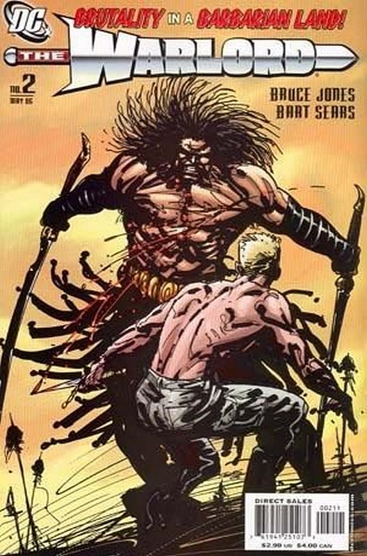 Cover of Warlord (Vol 2) #2. One of 250,000 Vintage American Comics on sale from Krypton!