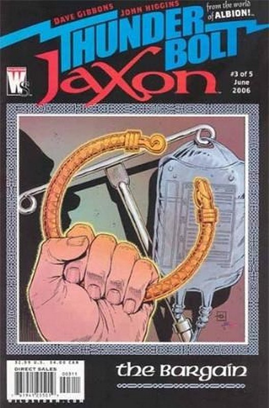 Cover of Thunderbolt Jaxon (2006 Ltd) #3. One of 250,000 Vintage American Comics on sale from Krypton!