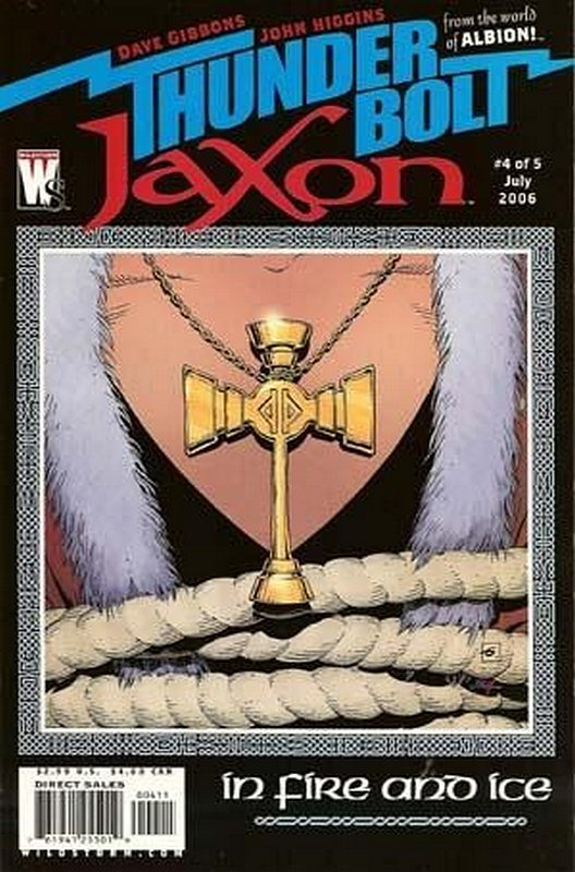 Cover of Thunderbolt Jaxon (2006 Ltd) #4. One of 250,000 Vintage American Comics on sale from Krypton!
