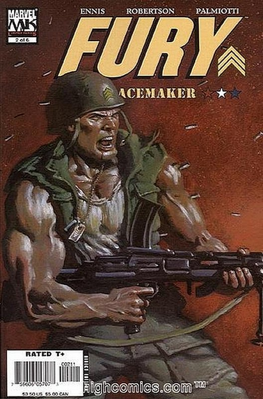 Cover of Fury: Peacemaker (2006 Ltd) #2. One of 250,000 Vintage American Comics on sale from Krypton!