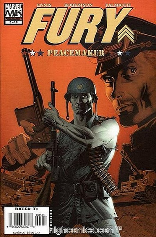 Cover of Fury: Peacemaker (2006 Ltd) #3. One of 250,000 Vintage American Comics on sale from Krypton!