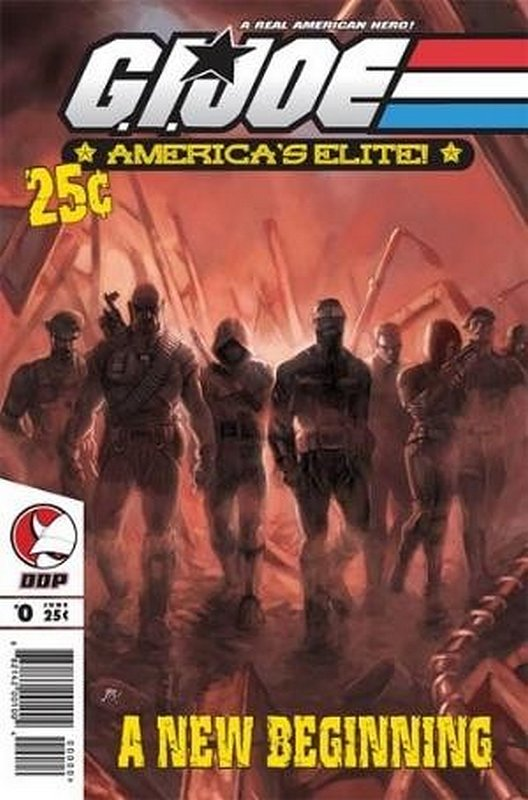 Cover of GI Joe: Americas Elite (Vol 1) #0. One of 250,000 Vintage American Comics on sale from Krypton!
