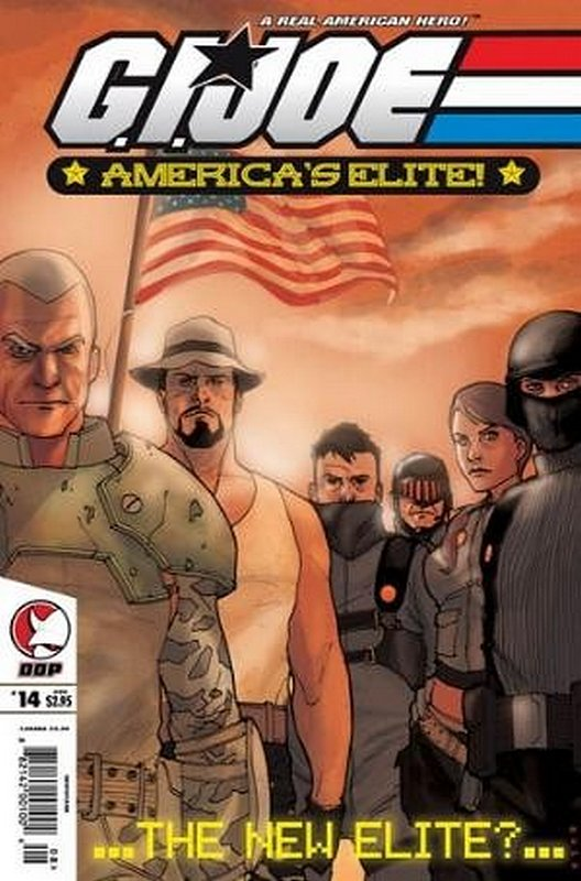 Cover of GI Joe: Americas Elite (Vol 1) #14. One of 250,000 Vintage American Comics on sale from Krypton!