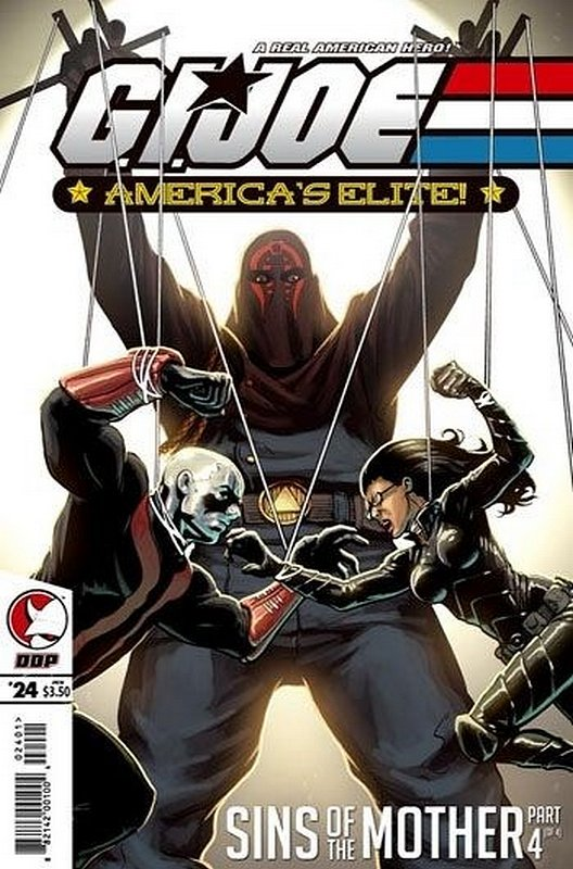 Cover of GI Joe: Americas Elite (Vol 1) #24. One of 250,000 Vintage American Comics on sale from Krypton!