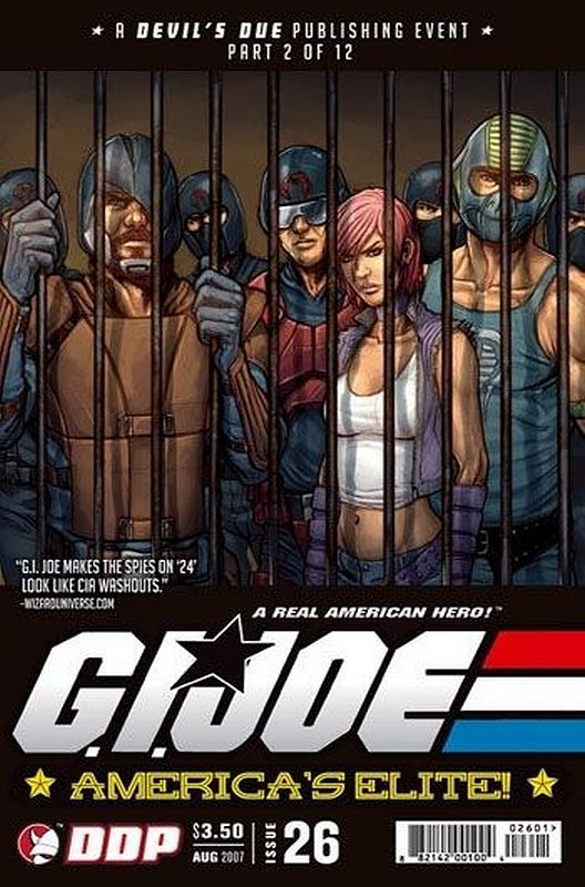 Cover of GI Joe: Americas Elite (Vol 1) #26. One of 250,000 Vintage American Comics on sale from Krypton!