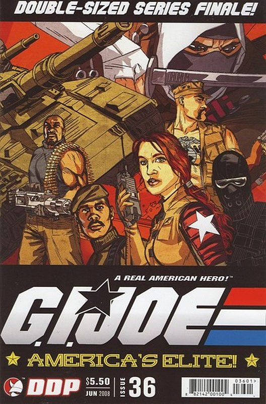 Cover of GI Joe: Americas Elite (Vol 1) #36. One of 250,000 Vintage American Comics on sale from Krypton!