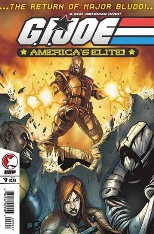 Cover of GI Joe: Americas Elite (Vol 1) #9. One of 250,000 Vintage American Comics on sale from Krypton!