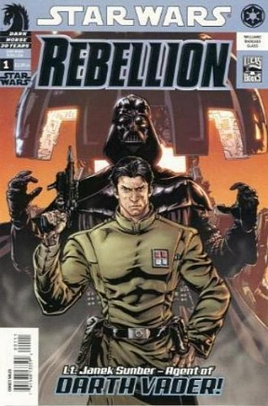 Cover of Star Wars: Rebellion #1. One of 250,000 Vintage American Comics on sale from Krypton!