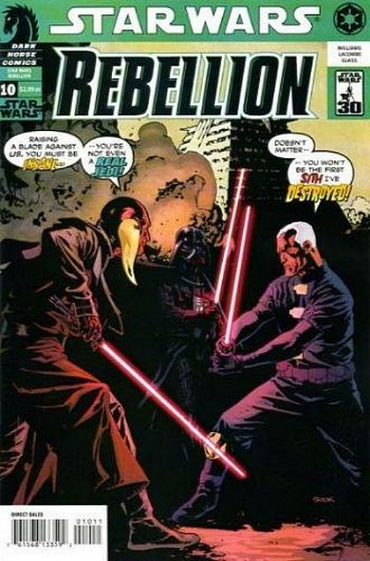 Cover of Star Wars: Rebellion #10. One of 250,000 Vintage American Comics on sale from Krypton!