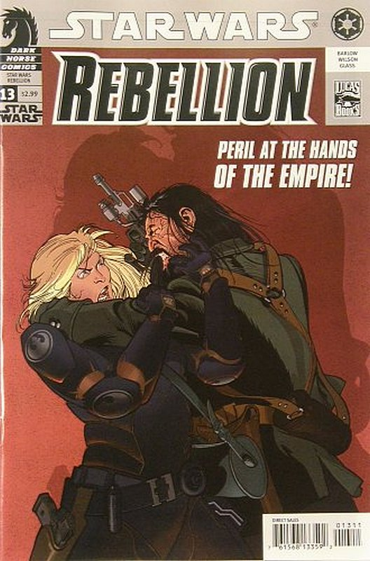Cover of Star Wars: Rebellion #13. One of 250,000 Vintage American Comics on sale from Krypton!