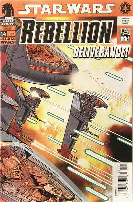 Cover of Star Wars: Rebellion #14. One of 250,000 Vintage American Comics on sale from Krypton!