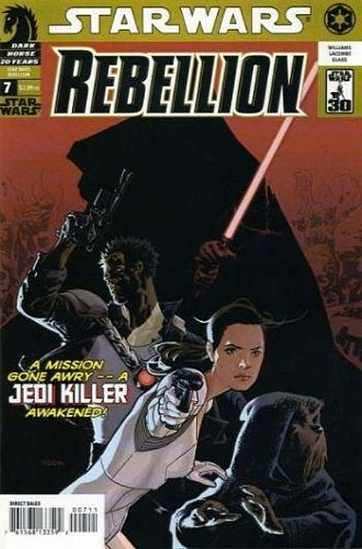 Cover of Star Wars: Rebellion #7. One of 250,000 Vintage American Comics on sale from Krypton!