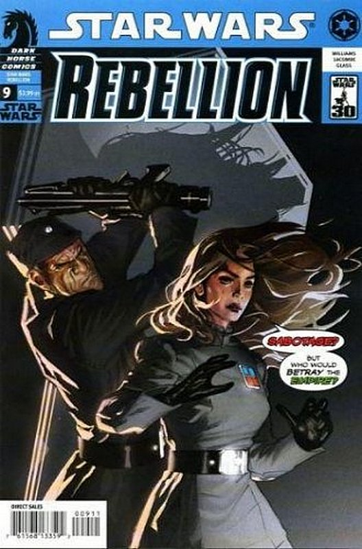 Cover of Star Wars: Rebellion #9. One of 250,000 Vintage American Comics on sale from Krypton!