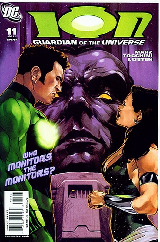 Cover of Ion: Guardian of the Universe (2006 Ltd) #11. One of 250,000 Vintage American Comics on sale from Krypton!