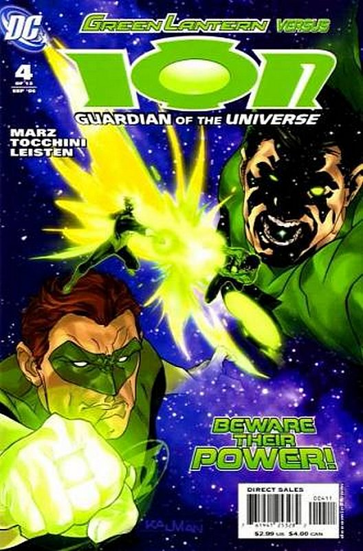 Cover of Ion: Guardian of the Universe (2006 Ltd) #4. One of 250,000 Vintage American Comics on sale from Krypton!