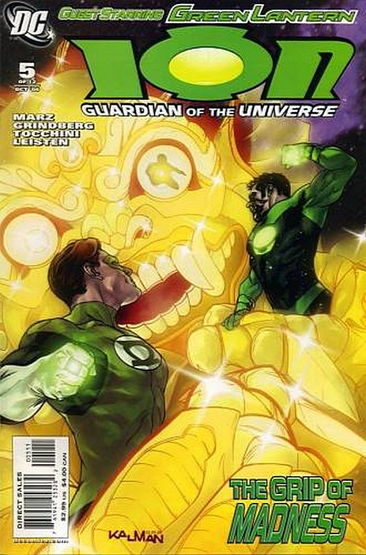 Cover of Ion: Guardian of the Universe (2006 Ltd) #5. One of 250,000 Vintage American Comics on sale from Krypton!