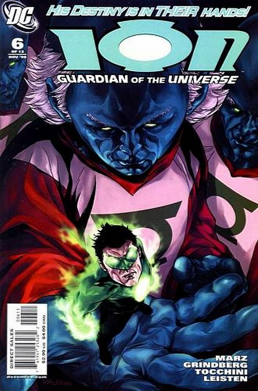 Cover of Ion: Guardian of the Universe (2006 Ltd) #6. One of 250,000 Vintage American Comics on sale from Krypton!