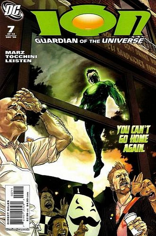 Cover of Ion: Guardian of the Universe (2006 Ltd) #7. One of 250,000 Vintage American Comics on sale from Krypton!