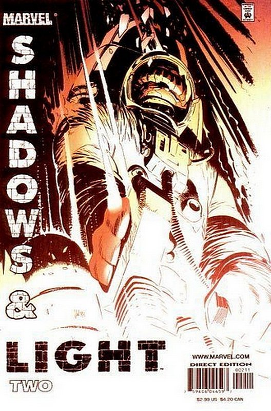Cover of Shadows & Light (1998 Ltd) #2. One of 250,000 Vintage American Comics on sale from Krypton!