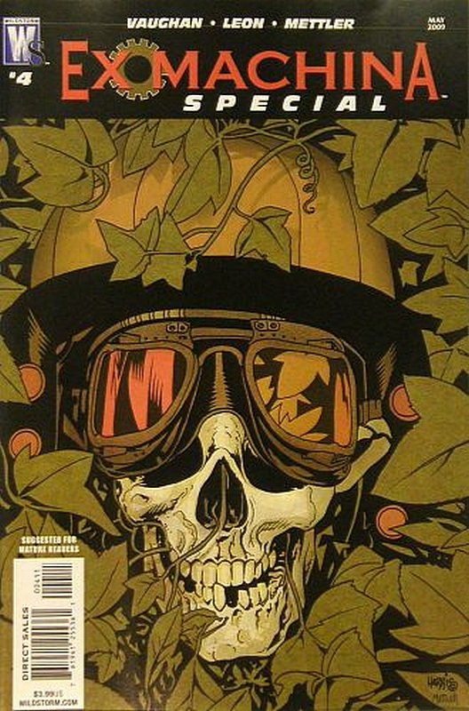 Cover of Ex Machina Special (2006 Ltd) #4. One of 250,000 Vintage American Comics on sale from Krypton!
