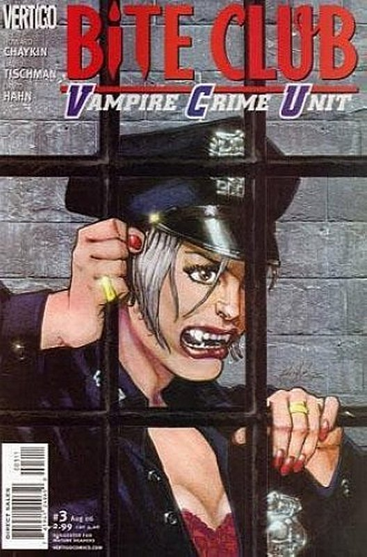 Cover of Bite Club: Vampire Crime Unit (2006 Ltd) #3. One of 250,000 Vintage American Comics on sale from Krypton!