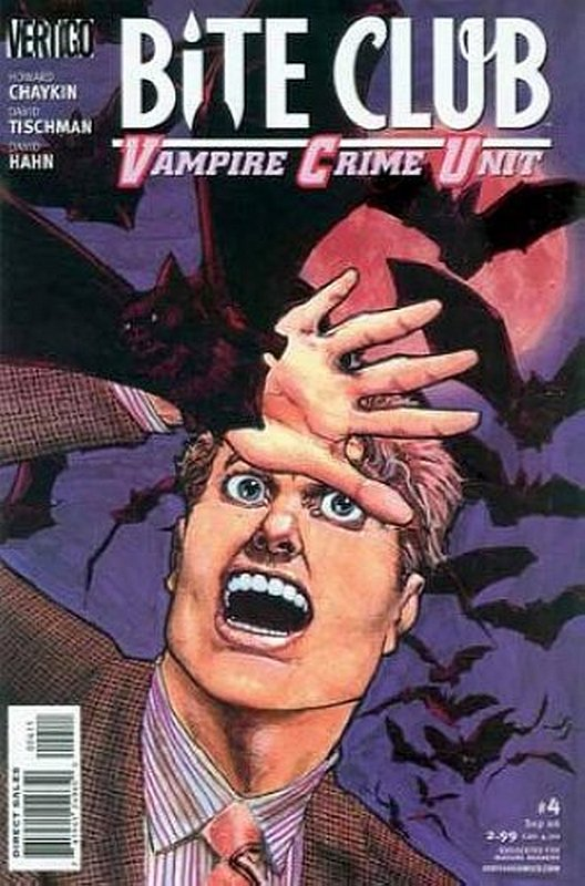Cover of Bite Club: Vampire Crime Unit (2006 Ltd) #4. One of 250,000 Vintage American Comics on sale from Krypton!