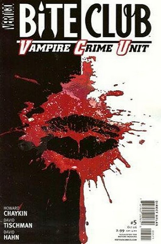Cover of Bite Club: Vampire Crime Unit (2006 Ltd) #5. One of 250,000 Vintage American Comics on sale from Krypton!