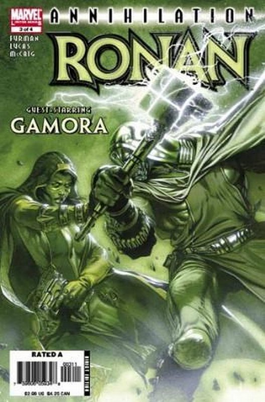Cover of Annihilation: Ronan The Accuser (2006 Ltd) #3. One of 250,000 Vintage American Comics on sale from Krypton!