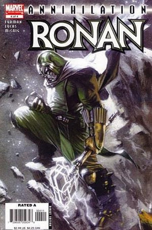 Cover of Annihilation: Ronan The Accuser (2006 Ltd) #4. One of 250,000 Vintage American Comics on sale from Krypton!