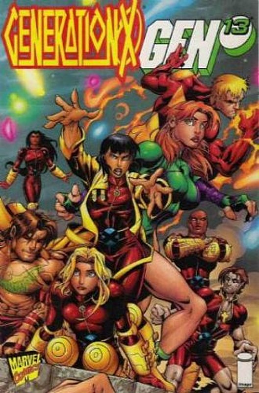 Cover of Generation X/Gen 13 (1997 One Shot) #1. One of 250,000 Vintage American Comics on sale from Krypton!