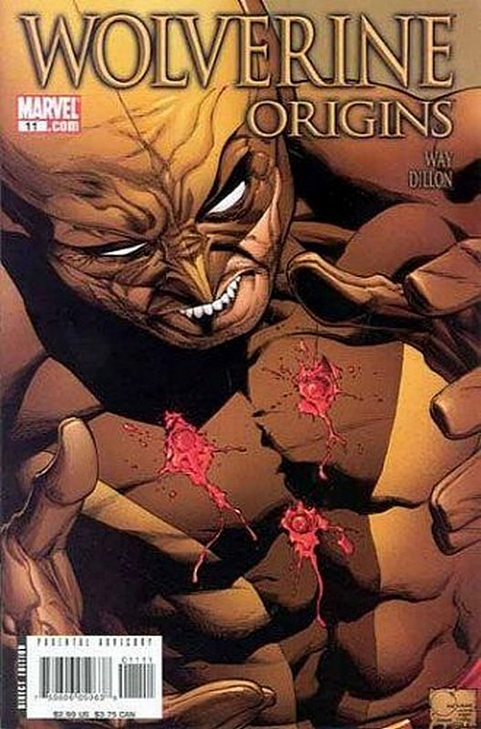 Cover of Wolverine: Origins (Vol 1) #11. One of 250,000 Vintage American Comics on sale from Krypton!