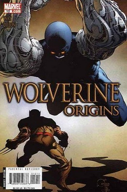 Cover of Wolverine: Origins (Vol 1) #12. One of 250,000 Vintage American Comics on sale from Krypton!