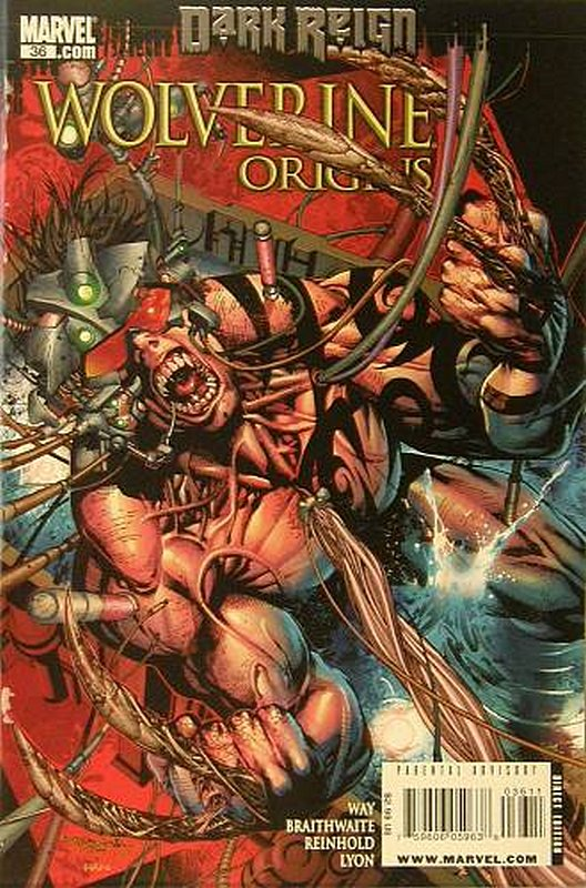 Cover of Wolverine: Origins (Vol 1) #36. One of 250,000 Vintage American Comics on sale from Krypton!