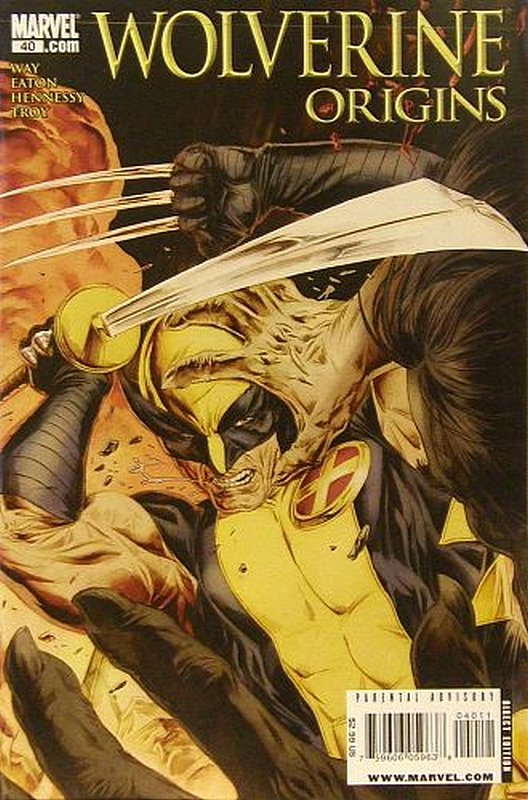 Cover of Wolverine: Origins (Vol 1) #40. One of 250,000 Vintage American Comics on sale from Krypton!