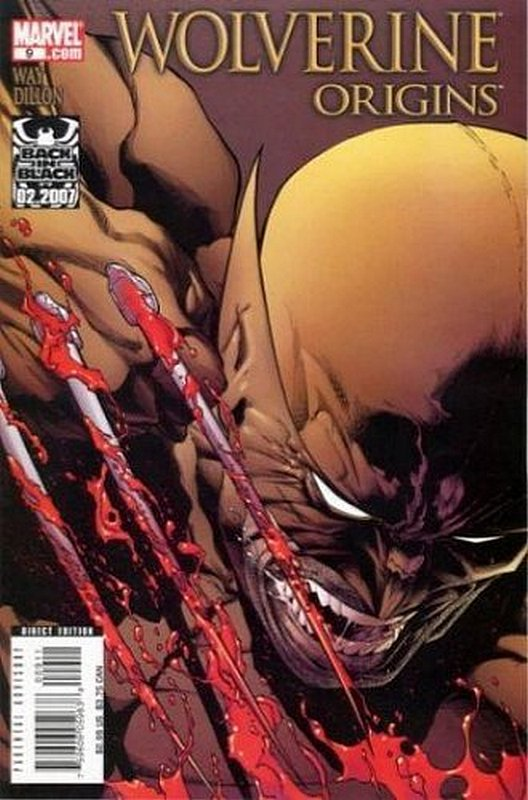 Cover of Wolverine: Origins (Vol 1) #9. One of 250,000 Vintage American Comics on sale from Krypton!