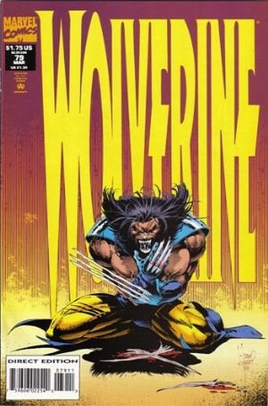 Cover of Wolverine (Vol 1) #79. One of 250,000 Vintage American Comics on sale from Krypton!