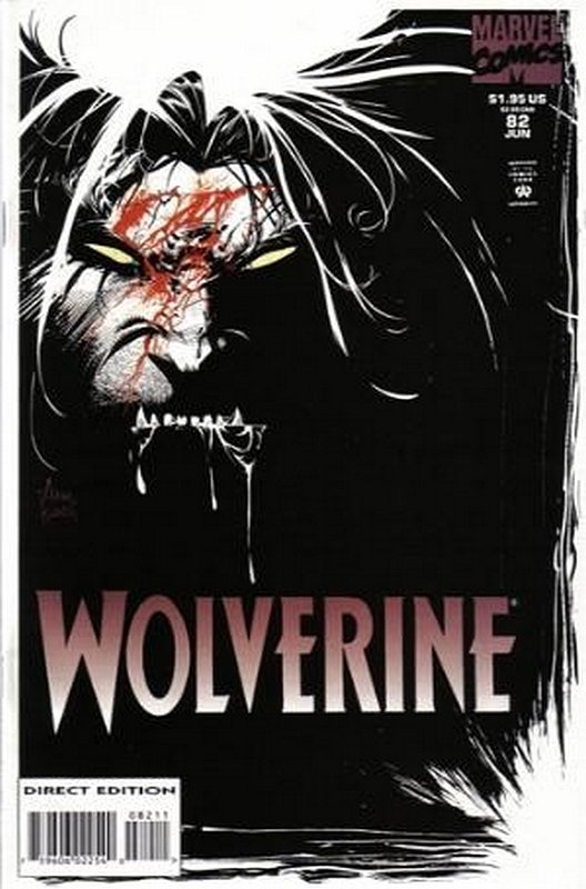 Cover of Wolverine (Vol 1) #82. One of 250,000 Vintage American Comics on sale from Krypton!