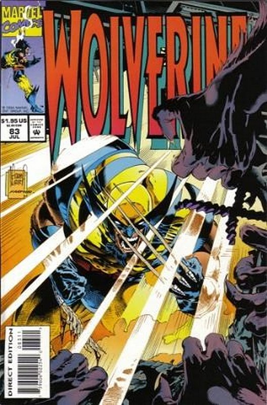 Cover of Wolverine (Vol 1) #83. One of 250,000 Vintage American Comics on sale from Krypton!