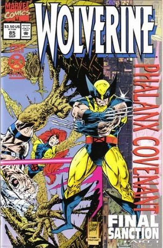 Cover of Wolverine (Vol 1) #85. One of 250,000 Vintage American Comics on sale from Krypton!