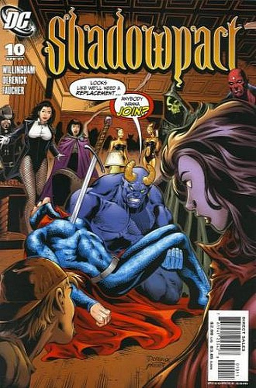 Cover of Shadowpact (Vol 1) #10. One of 250,000 Vintage American Comics on sale from Krypton!